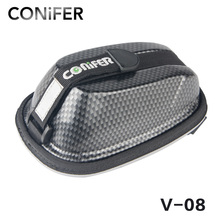 Bicycle Bag Rainproof Saddle Bag Reflective Bike Bag Shockproof Cycling Rear Seatpost Bag MTB Bike Accessories Conifer V08