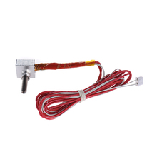 DIY Hot End Kit Nozzle M6 Extruder Throat Heater Thermistor Aluminum Heater Block for RapRep i3 Anet A2 A8 3D Printer(China)