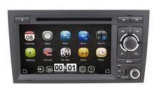 7 inch 2 Din Car DVD Head unit for AUDI A4 2002-2008 With GPS Navigation Stereo Radio RDS Bluetooth + gift map