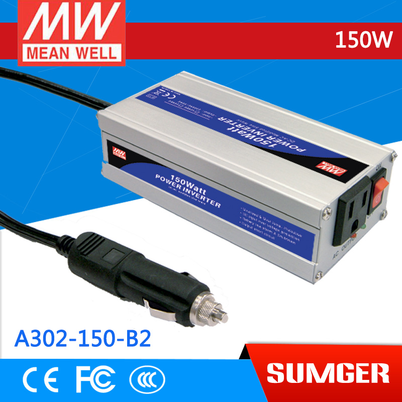 3MEAN WELL original A302-150-B2 110V  meanwell A302-150  150W Modified Sine Wave DC-AC Power Inverter<br>