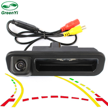 GreenYi Intelligent Dynamic Trajectory Tracks Rear View Camera For Ford Focus Hatchback Sedan Auto Reversing Parking Monitor(China)