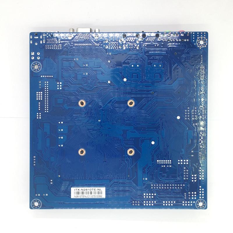 Интернет магазин товары для всей семьи HTB1He6Jdk7mBKNjSZFyq6zydFXaX 17x17 см материнская плата ITX встроенный процессор Intel Celeron N2810 2,00 ГГц DDR3L мини PCI-E mSATA HDMI VGA 6x USB WiFi 12 V 5A