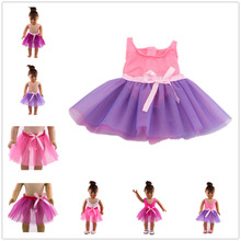 "Random match Ballet Skirt Doll Clothes Wear fit for 18"" American Girl Doll Clothes/dress Christmas Gift"