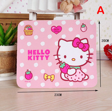 Mini Small Hello Kitty Mouse Pads Size 23 * 20 CM ( 9.05 * 7.87 Inch)(China)
