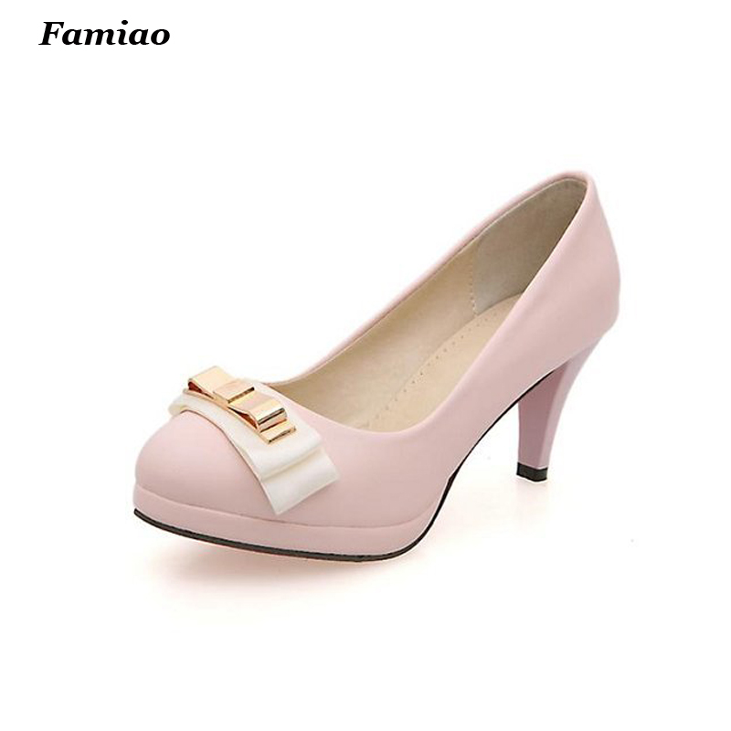 sapato feminino 2017 Super Soft Flexible Pumps Shoes Women fashion OL Pumps Spring High Heels Offical Shoes<br><br>Aliexpress