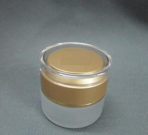 10PCS 50g golden glass frosting cream jar packing bottle,Cream box / bottle<br><br>Aliexpress