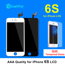 Bluehfixr LCD for iPhone 6S LCD Screen Display Digitizer Assembly with Touch Screen Replacement for iPhone 6S LCD Black White(China)