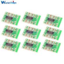 10Pcs/Lot 2.5-5V Miniture Mini Digital Amplifier Board 2x3W PAM8403 Class D Stereo Speaker AMP Module USB Power Supply 2.5 To 5V