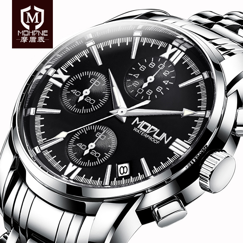 2018 Multifunction Men Wristwatches Top Brand Luxury Rose Gold Hodinky Male Clock Relogio Masculino Automatic Date Quartz Watch <br>