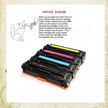 1pcs CB540A CB541A CB542A CB543A Color Toner Cartridge for HP Color LaserJet CM1312/CP1215/CP1515N/CP1518NI(China)