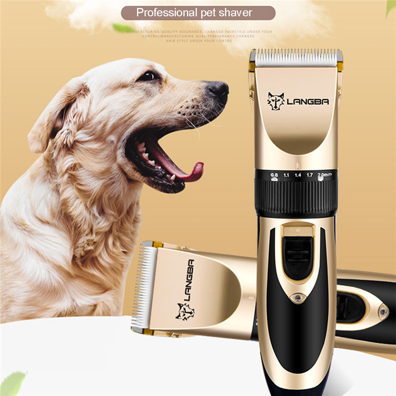 Professional Pet Grooming Set Dog Cat Nail Clippers Kit Rechargeable Pet Cat Dog Hair Trimmer Shaver Set Groomer Tool01