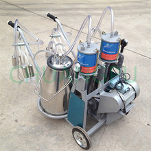Direct Factory Supply Sheep Trolley Milking Extruding Machine Price in China