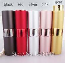 15ml Perfume Bottle,Travel Aluminum Perfume Atomizer Bottle,Glass Perfume Atomizer for Personal Care