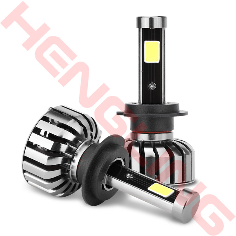 Car Led H4 H7 H11 H1 H10 HB3 H13 H3 9004 9005 9006 9007 COB LED Car Headlight Bulb 80W 8000LM White 6000K Auto Headlamp<br>