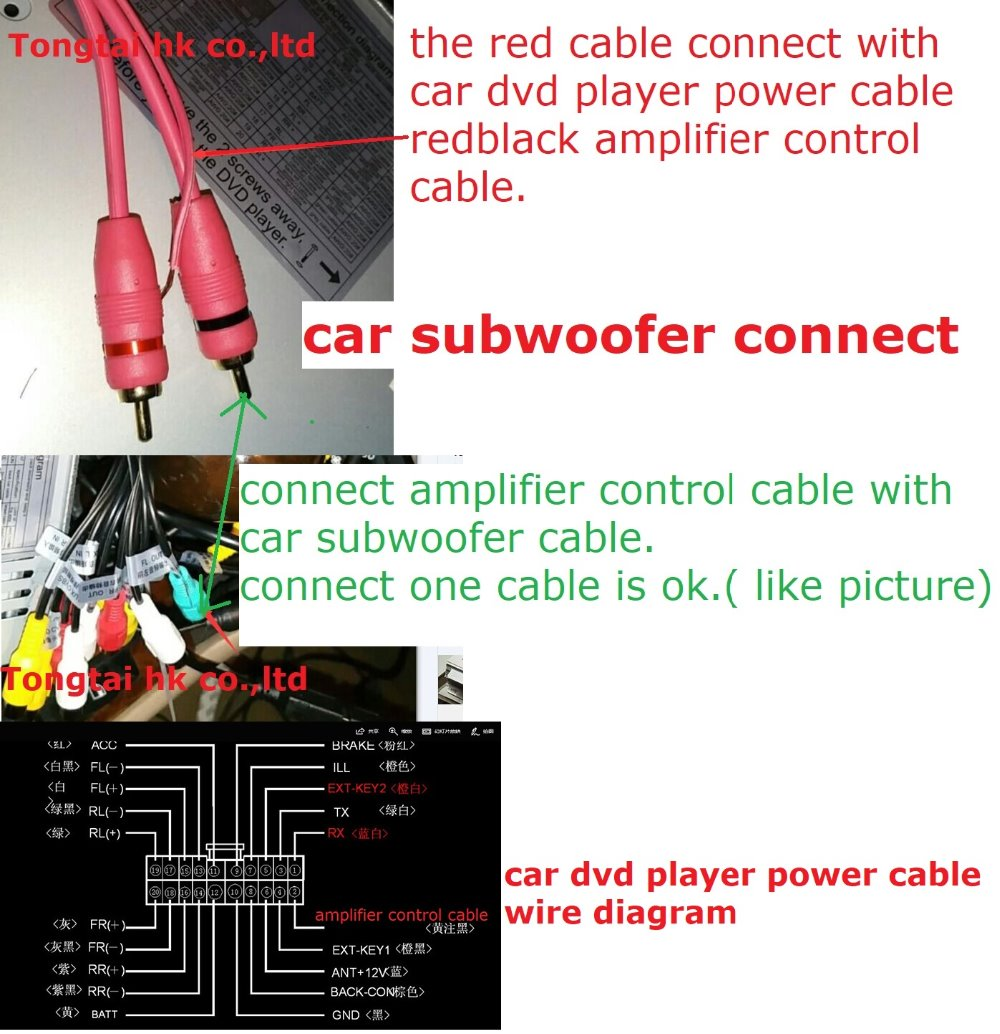 for subwoofer connect cable