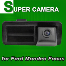 Truck handle Car Reverse rear view back up Parking cam Camera for Ford Mondeo Focus Hatchback Coupe(China)