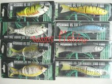 Sample Set for MS Slammer Type 2 Sections Joint Muskie Terminator (WT 165) Fishing Lure Retail Connvenience at Wholesale Price