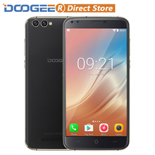 "DOOGEE X30 4 Camera 3G Smartphone Android 7.0 MTK6580 Quad Core 5.5"" HD 2GB+16GB Cellphone 5MP+5MP 8MP+8MP 3360mAh Mobile Phone(China)"