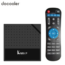 KM8P Android 7.1 TV Box Amlogic S912 1GB 8GB H.265 UHD 4K Set top Box VP9 HD Media Player 2.4G WiFi wireless router(China)