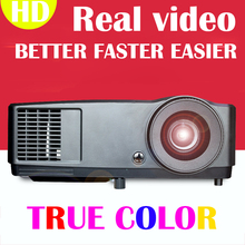 Ultra brightness 300inch 7000 Lumen VGA 3D Multimedia DLP Portable Outdoor Projector Proyector beamer for Advertising