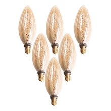 E12 C35 Vintage Retro Filament Edison Tungsten Light Bulb Antique Style Lamp Brand new Filament Bulb