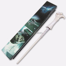 Wholesale/Retail Newest Magic Wand Lord Voldemort Wand Magical Stick Wand New In Box Cosplay Harry Potter(China)