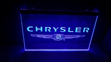 Chrysler beer bar pub club led neon light sign home decor(China)