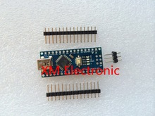 Freeshipping ! 1pcs/lot Nano 3.0 controller compatible for arduino nano CH340 USB driver NO CABLE