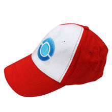 Hot Pocket Monster Pokemon Trainer Ash Ketchum Baseball Cap Cosplay Hat Costume(China)