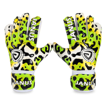 Janus 929 Free shipping Thickened  goalkeeper gloves Children football goalkeeper gloves soccer gloves- LATEX palm