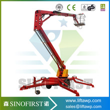 Innovative products to import telescopic boom lift truck crane