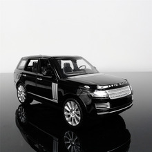 1:24 Free Shipping RANGE ROVER Alloy Diecast Car Model Pull Back Toy Car model Electronic Car with light&sound Kids Toys Gift(China)