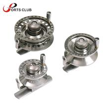 2+1 Ball Bearing Right Handed Fly Fishing Reel Aluminum Alloy Smooth Rock Ice Fishing Reels Fly Reels Fishing Tackle(China)