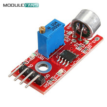 2pcs High Sensitive Microphone Sound Sensor Detection Module For Arduino AVR PIC 5V DC Power Supply Analog Output Module
