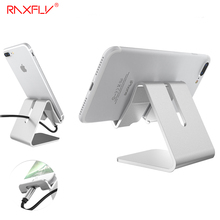 RAXFLY Phone Tablet Holder For iPhone 7 Plus Phone Stand Holder Universal Desktop Stand For Xiaomi Redmi For Samsung Huawei LG(China)