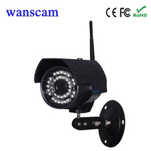 hot Wanscam HW0027 waterproof bullet outdoor Wifi Security CCTV IP Camera Wireless With TF Card Slot on Outside Easy to Install
