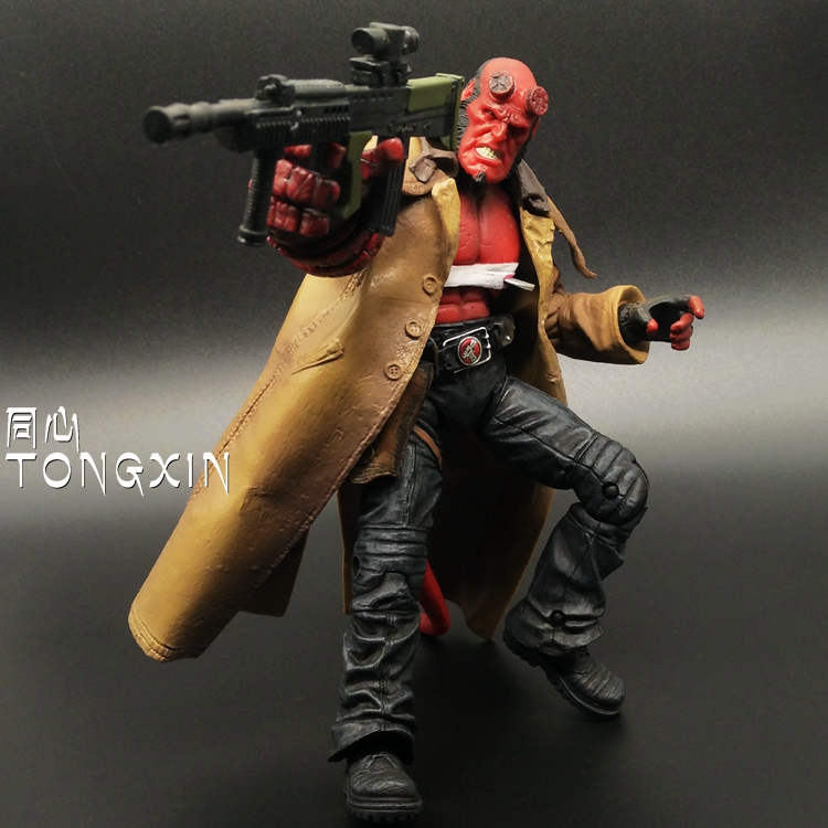 Hell Baron 2 Hellboy Hell Boy 6-Inch Super Movable Doll Hand Model Toy MEZCO Ant T68<br>