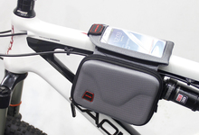 "5.5"" inch Waterproof Outdoor Cycling MTB Bike Giant Merida Bicycle Bag Frame Front Tube Bag Touchscreen Phone Case GUB 910"