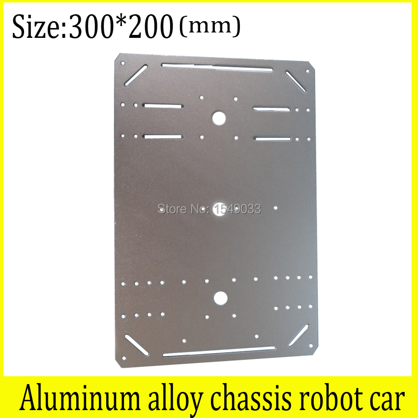 NEW Aluminum alloy chassis robot car 2wd 4wd rc car chassis motor smart robot car chassis High-strength  tank car chassis<br>