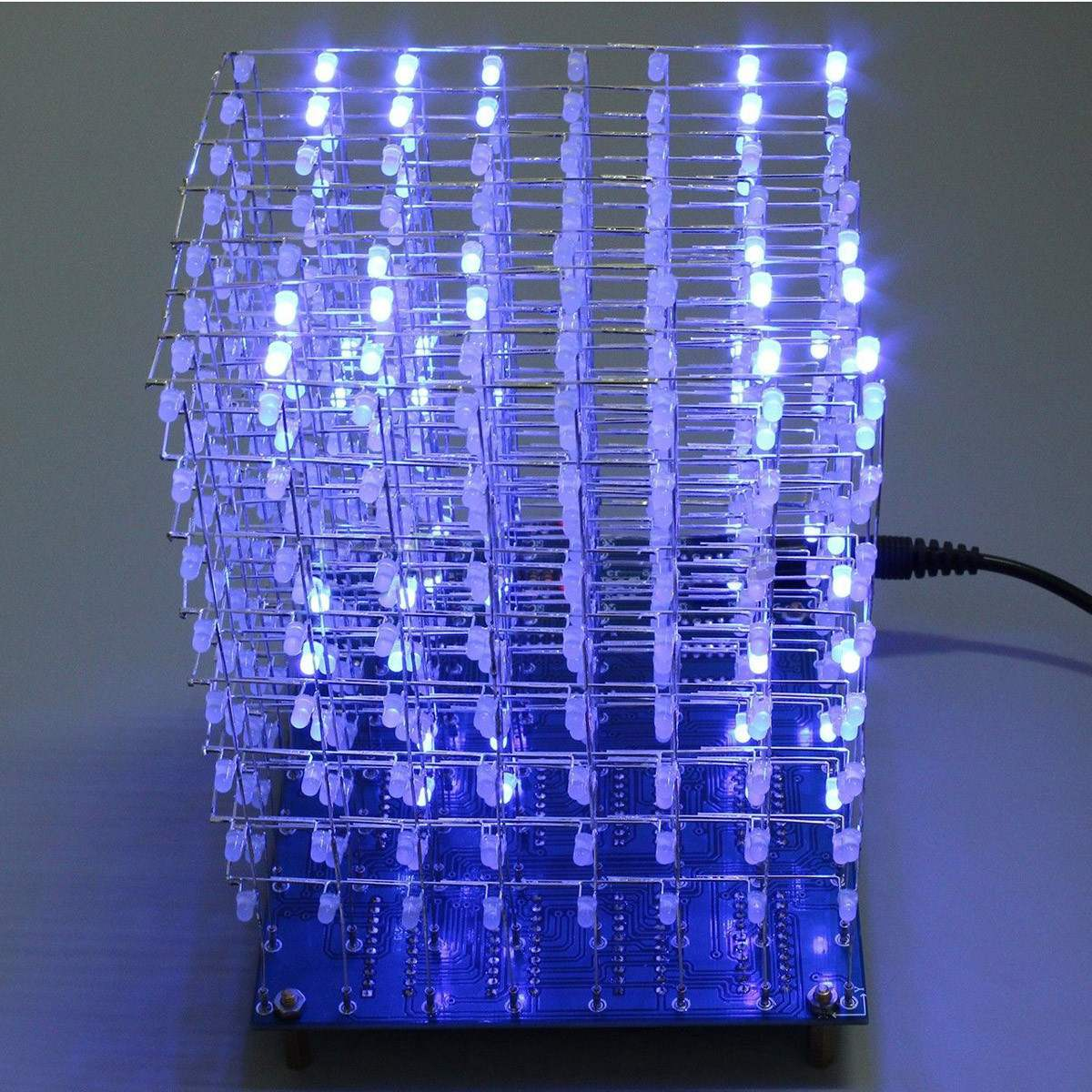 Audio & Video Replacement Parts Able Leory Diy 3d Led Light Cube Kit Wi-fi Connected App Control 8x8x8 512 Led Display Equipment Mp3 Dac Circuit Music Spectrum High Standard In Quality And Hygiene Consumer Electronics