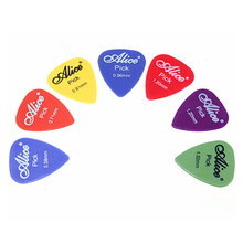 Good Deal 100 Pcs Plastic Guitar Picks Plectrums--Random Color(China)
