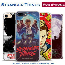 Stranger Things Tv Show Popular Coque Phone Case Cover Shell Bag For Apple iPhone 7PLUS 7 6SPLUS 6S 6PLUS 6 5 5S SE 4S 4