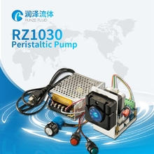 dc 24V peristaltic pump chlorine dosing pump small peristaltic pump 0-170ml/min(China)