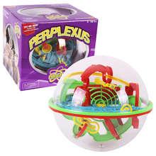 100 Steps Perplexus Magnetic Balls IQ Balance Toy Maze Ball 3D Magic Intellect Ball Marble Puzzle Game Educational Classic Toys(China)