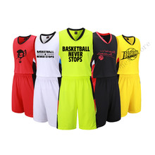 Adsmoney basketball jerseys adult blank basketball sets sports kits men running Men suits sports vest and shorts sportswear DIY(China)