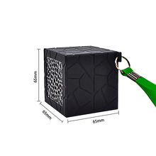 My vision Bluetooth Speaker Outdoor Portable Wireless Mini Waterproof Speaker Hands-free Call Mic for Phone PC Black