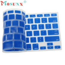 Beautiful Gift Brand New Silicone Keyboard Skin Cover For Apple Macbook Pro Air Mac Retina 13.3 Wholesale price Dec17