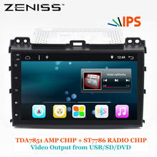 ZENISS Android 9inch 2GB RAM Car GPS For TOYOTA Land Cruiser Prado 120 IPS PANEL TPMS DAB DVR option