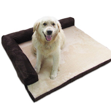 Detachable Deign Small Medium Large Dogs Bed Sofa Corduroy Thickened Pet Mats Cushion Indoor Kennel House For Puppy Cats
