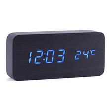 Desktop Digital Led Alarm Clock Led Kids Watch Vintage Home Decor Diy Alarm Clock Table Clocks Imitation Crystal Clock